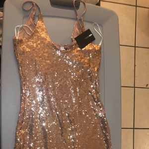 Sparkly short dress
